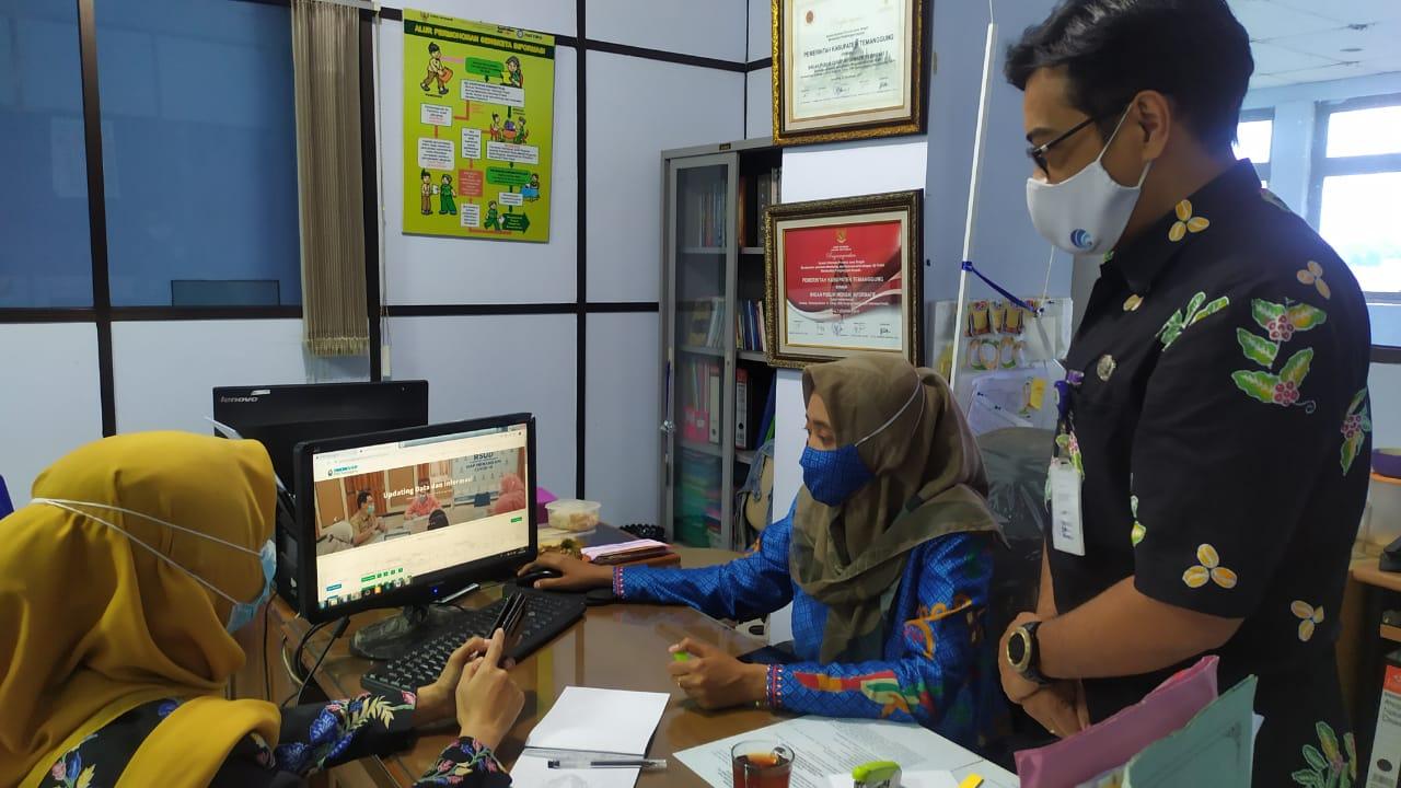 PPID Utama Kabupaten Temanggung Adakan Bimtek Aplikasi SiMONEV-KIP