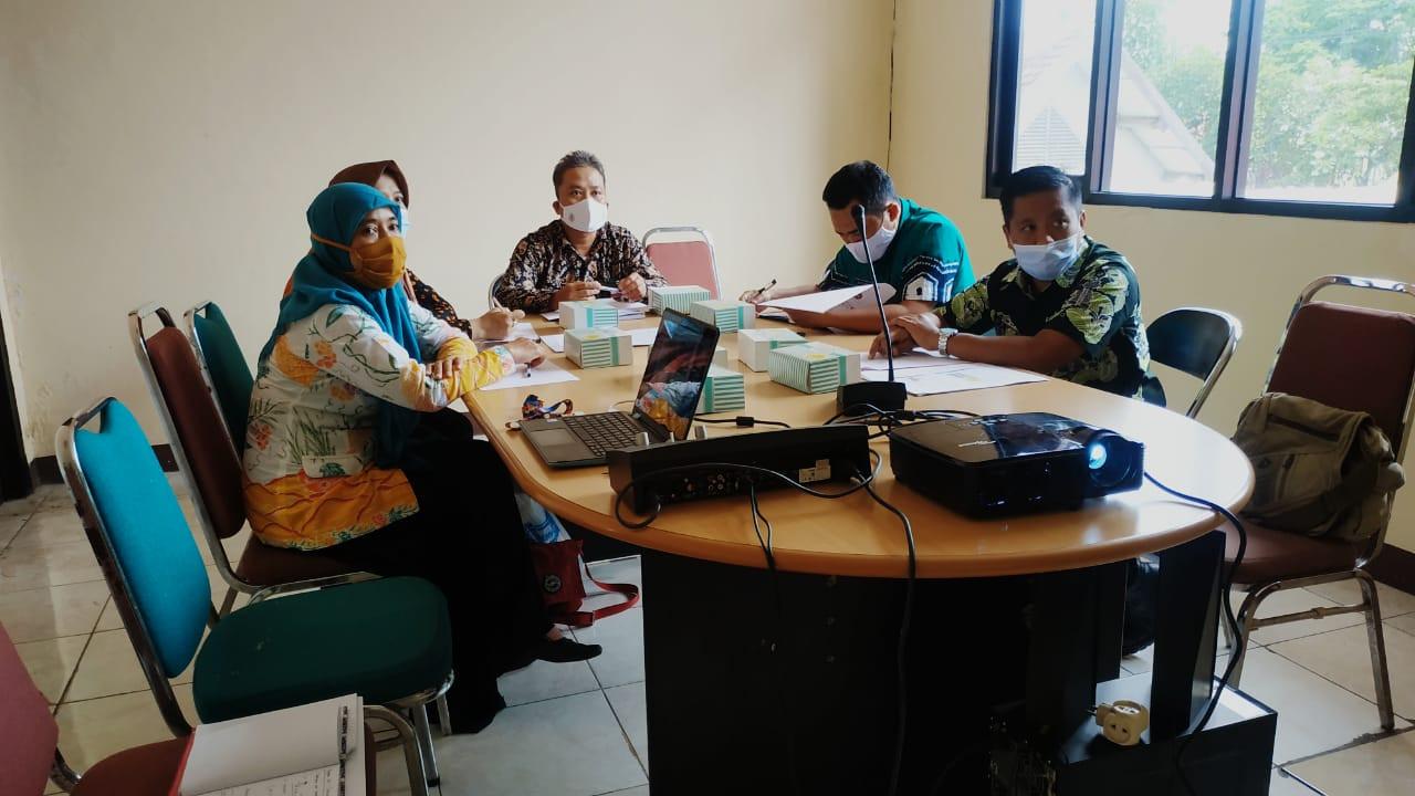 PPID Kabupaten Temanggung Ikuti Verifikasi SAQ dan Presentasi DIP